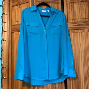 New York & Company Chiffon Blouse